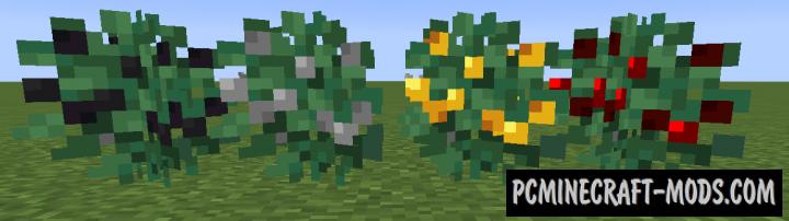 Metal Bushes - Farming Mech Mod For Minecraft 1.17.1, 1.16.5, 1.15.2