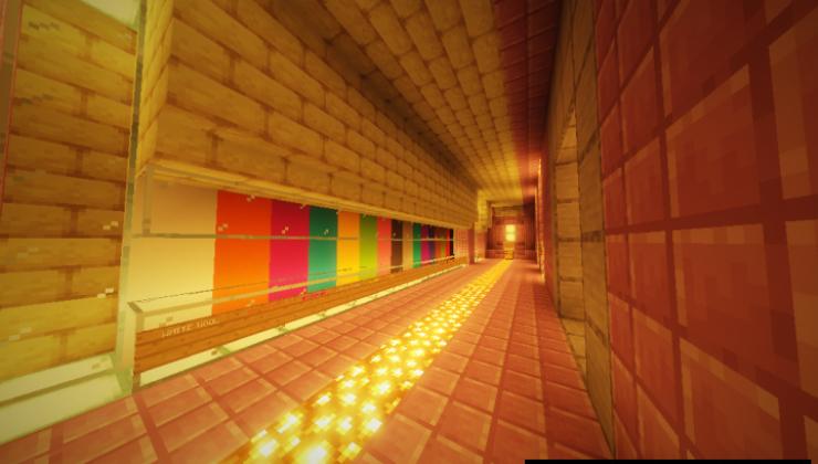 Melancholic Caverns - Adventure, PvE Map For MC