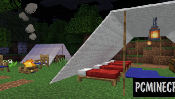 Campanion - Survival Furniture, Decor, Tool Mod 1.16.5, 1.15.2