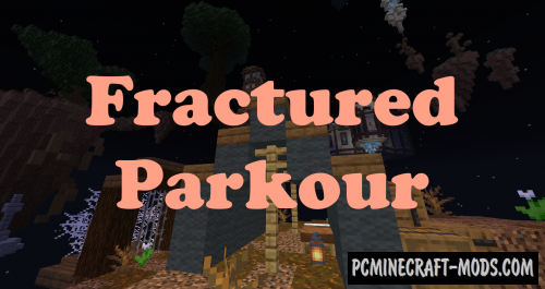 Fractured Parkour Map For Minecraft