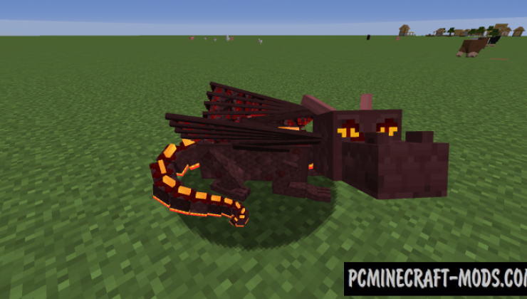 Dragon Mounts: Legacy - Creatures Mod For MC 1.16.5, 1.15.2