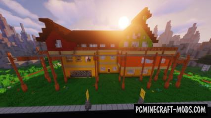 Hello Neighbor 2.1 - Minigame Map For Minecraft
