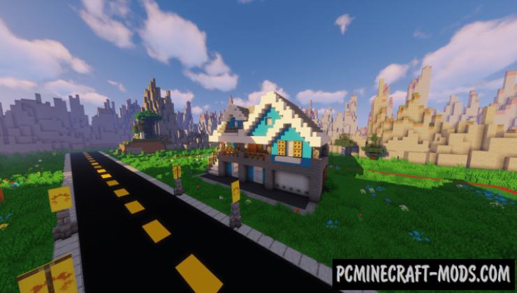 Hello Neighbor 2.1 - Minigame Map For Minecraft