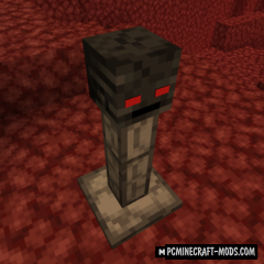 Wither Skeleton Totem - Block Mod For MC 1.16.4, 1.15.2