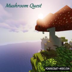 Mushroom Quest - Dimension Mod 1.15.2, 1.14.4, 1.12.2
