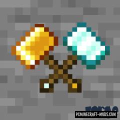 Vanilla Hammers - Tools Mod For Minecraft 1.16.4, 1.15.2