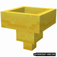 Golden Hopper - New Tech Block Mod For MC 1.16.5, 1.15.2