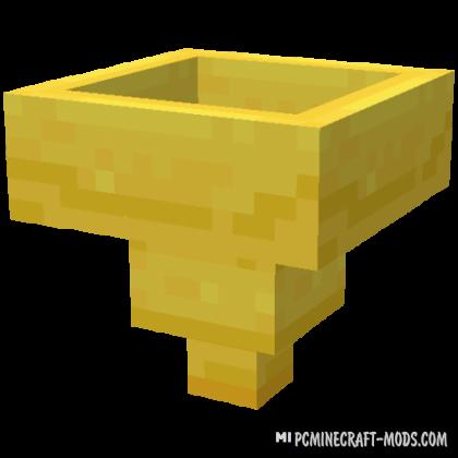 Golden Hopper - New Tech Block Mod For MC 1.16.3, 1.15.2