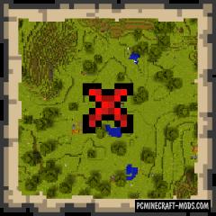 Venture - Adventure, Random Treasures Mod MC 1.15.2
