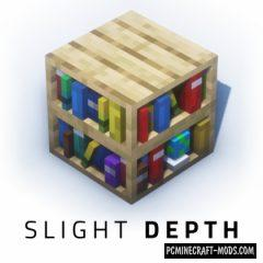 Slight Depth - 3D Resource Pack For Minecraft 1.16, 1.15.2