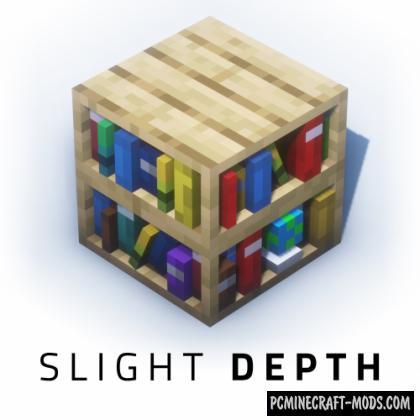 Slight Depth - 3D Texture Pack Minecraft 1.16.5, 1.16.4, 1.15