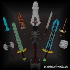 Advanced Swords - Weapons Mod For MC 1.15.2, 1.14.4, 1.12.2