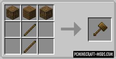 Vanilla Hammers - Tools Mod For Minecraft 1.16.4, 1.15.2