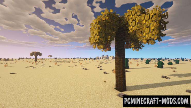 CAZfps Landscape - Biomes Mod For MC 1.15.2, 1.14.4, 1.12.2