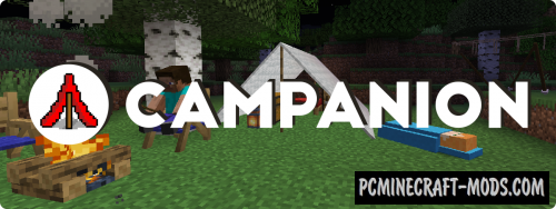 Campanion - Survival Furniture, Decor, Tool Mod 1.16.2, 1.15.2