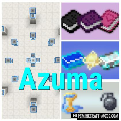 Azuma - Magic, Ore, Blocks Mod For Minecraft 1.15.2