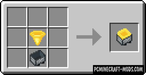 Golden Hopper - New Tech Block Mod For MC 1.17.1, 1.16.5, 1.15.2
