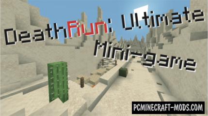 DeathRun: Ultimate - Parkour, Minigame Map MC