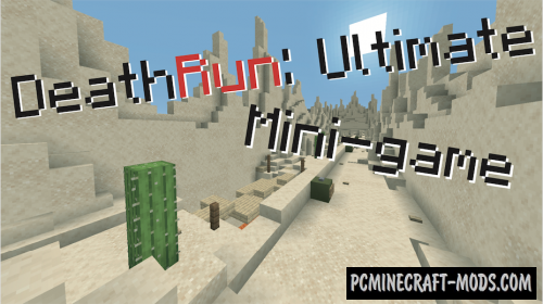 DeathRun: Ultimate - Parkour, Minigame Map MC