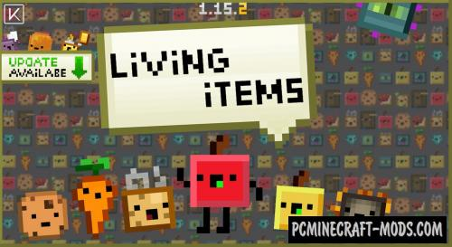 Living Items 16x Texture Pack For Minecraft 1.16.5, 1.16.4