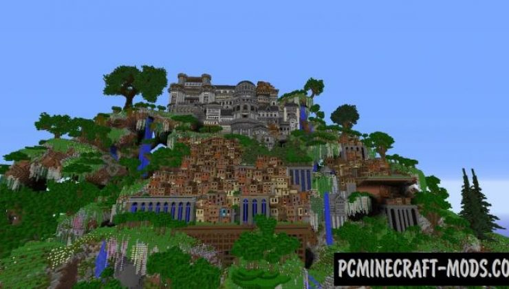 Slums & Manors - Mountain City Map For MC