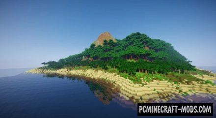 Tropical Island - Survival Map For Minecraft