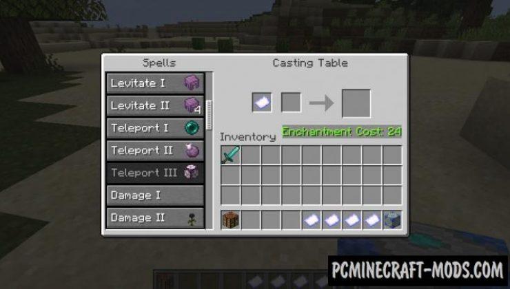 SorceryCraft - Magic Spells Mod For Minecraft 1.16.5, 1.15.2