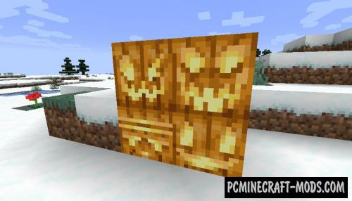 Oh My Gourd - Decoration Mod For Minecraft 1.15.2