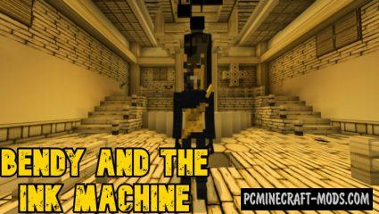 Bendy And The Ink Machine Addon For Minecraft 1.16.220