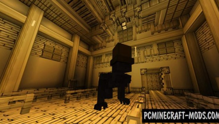 Bendy And The Ink Machine Addon For Minecraft 1.16, 1.14