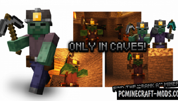 Rotten Creatures - Monsters Mod For Minecraft 1.15.2, 1.14.4