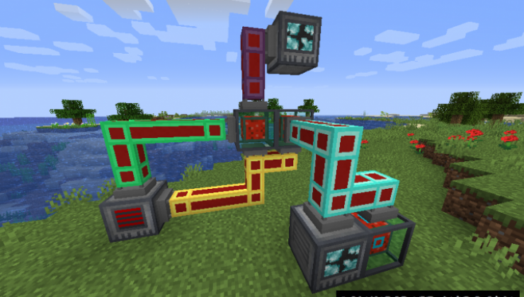Refined Pipes - Technology Mod For Minecraft 1.16.4