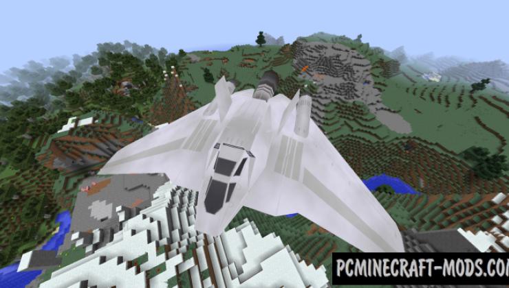 RaumShips - Battle Vehicles Mod For Minecraft 1.12.2
