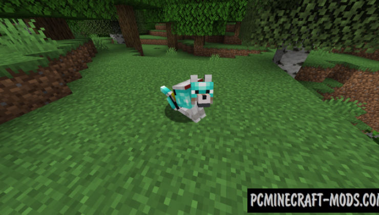 Wolves With - Armor Mod For Minecraft 1.16.5, 1.16.4, 1.15.2