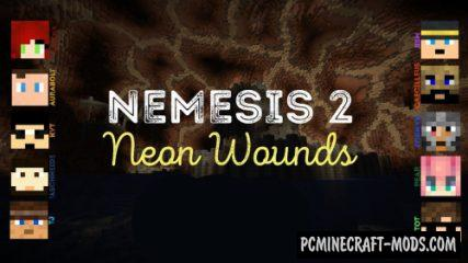 Nemesis II - Neon Wounds - Finding Map For MC