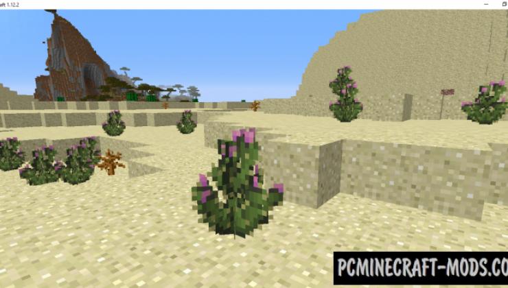 Nautral Decor - New Blocks, Trees Mod MC 1.16.5, 1.12.2