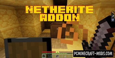 Netherite Ore Addon For Minecraft Bedrock 1.16.201