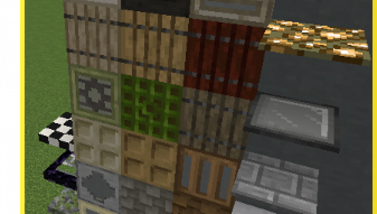 Styled Blocks - Decoration Pack Mod For MC 1.15.2, 1.14.4