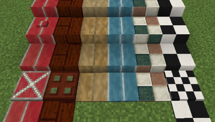 Styled Blocks - Decoration Pack Mod For MC 1.16.5, 1.12.2