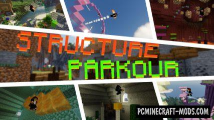 Structure Parkour Map For Minecraft