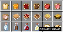 VanillaBreakfast - Food, Realistic Tweak Mod MC 1.15.2
