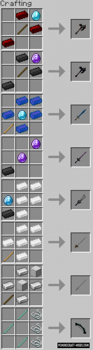 EquipZ - 3D Weapons, Armor Mod MC 1.16.5, 1.16.4, 1.14.4