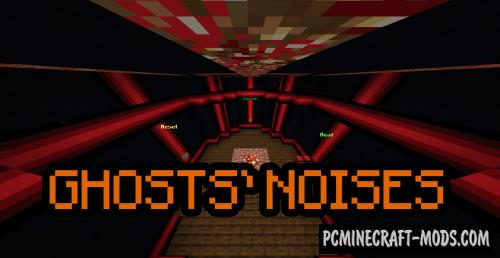 Ghosts' Noises - Horror Map For Minecraft