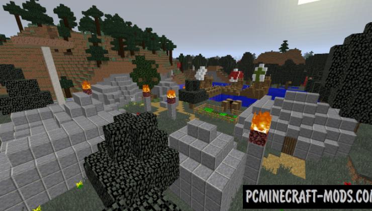 Hermaeus Mora - RPG Adventure Mod MC 1.15.2, 1.14.4, 1.12.2