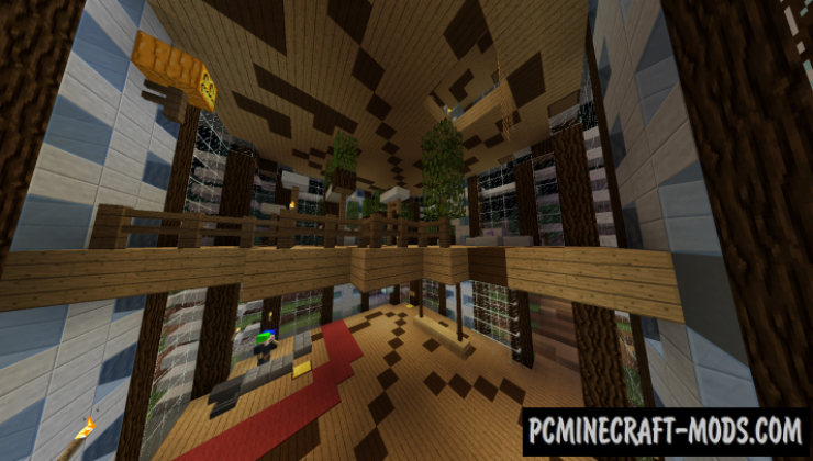Tower Jump 3 - Parkour Map For Minecraft