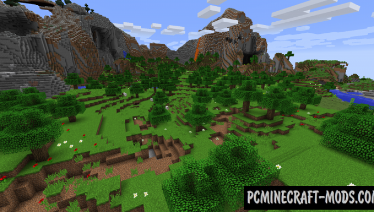Traverse: Legacy Continued - Gen Mod For Minecraft 1.15.2