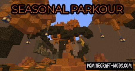 Seasonal Parkour Map For Minecraft
