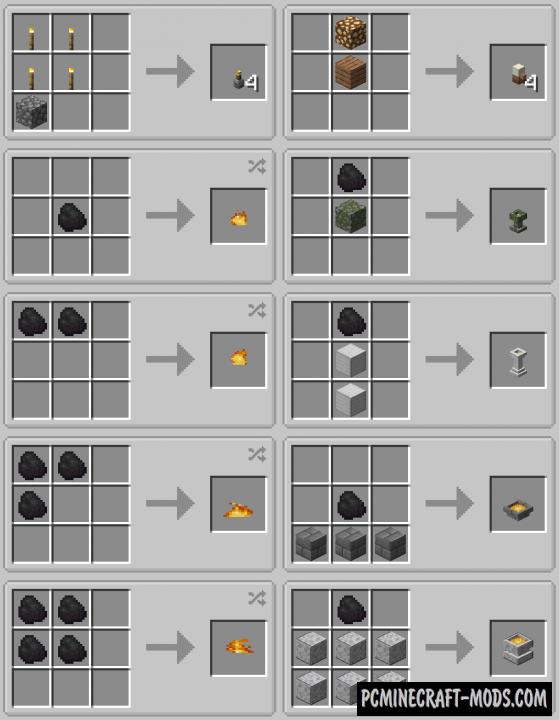 Additional Lights - Decoration Mod MC 1.17.1, 1.16.5, 1.14.4, 1.12.2