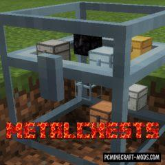 Metal Chests - New Blocks Mod For Minecraft 1.12.2