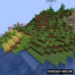 Natural Slabs - New Blocks Mod For Minecraft 1.15.2